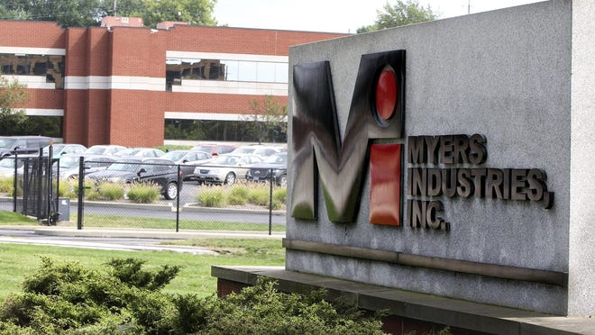 Akron headquarters of Myers Industries Inc.