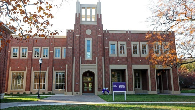 The Convergent Media Center building on Capital University campus in Bexley, Ohio.