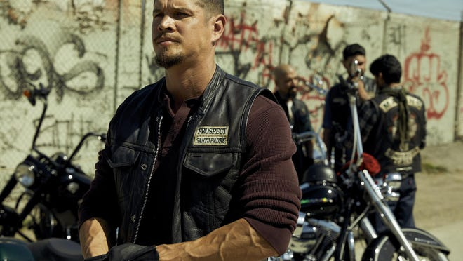 """JD Pardo as EZ Reyes in """"Mayans M.C."""" FX has ordered another season of the show, but production has been delayed because of the pandemic."""