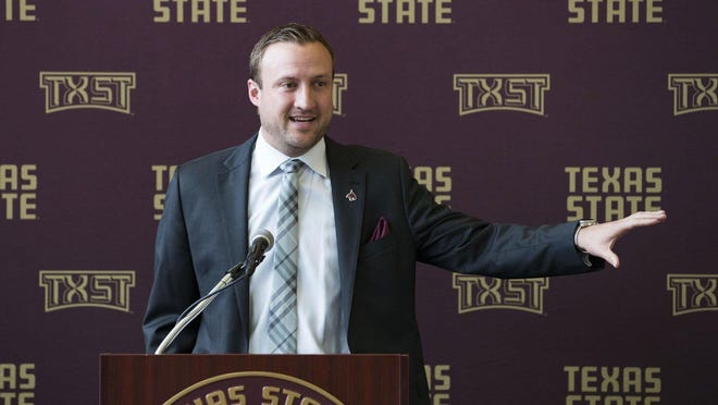 It has been a rocky start to Jake Spavital's first two years as Texas State's head football coach, including a rough first season, a coaching staff overhaul, the decision to call plays himself on Saturdays, and the coronavirus pandemic that has shut down all sports.