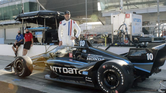 Jimmie Johnson is making the transition to IndyCar and will drive for Chip Ganassi Racing next season. Johnson test drove the open wheel car earlier this summer for Ganassi.