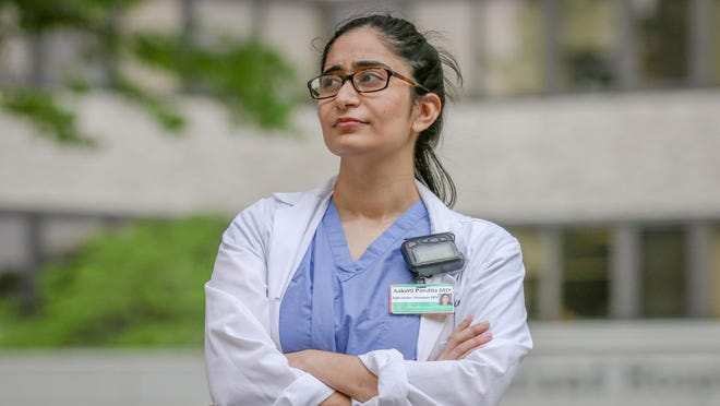 Rhode Island Hospital Dr. Aakriti Pandita, an infectious diseases fellow, was one of the very first COVID patients in the state. She talks about her experience with the disease as a patient, first, then a clinician.