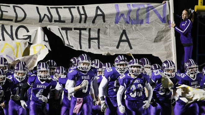 The Marshwood High School football team is hoping to take the field this fall, though uncertainty remains over the state of fall sports in Maine amid the COVID-19 pandemic.