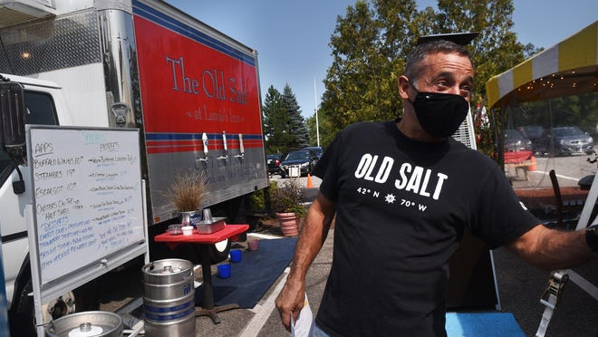 Joe Higgins, co-owner of the Old Salt Restaurant and Lamie's Tavern talks about the changes he and his family and staff have made to make things work during a pandemic. Their catering truck has been useful to help eliminate steps waitstaff have to take for various things.