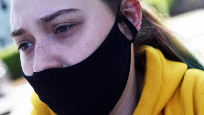 Britt Hall, 20, has been in an apartment in Rochester for a year after being homeless as a teen. She was assisted by Waypoint Center and its rapid re-housing program. She talks about the loss of her father and many other obstacles she has faced.