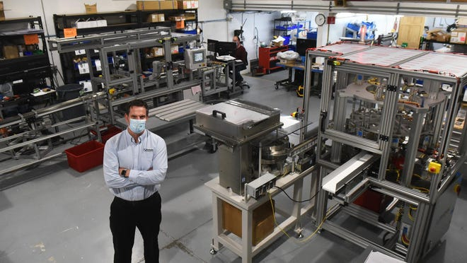 Intec Automation is looking to double its manufacturing space, from 15,000 square feet to 30,000 square feet, while remaining in Rochester. Corey Marcotte, president of Intec, said the company is planning new construction. The business  manufactures custom machines for all areas of manufacturing, even related to COVID testing.