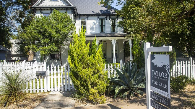 This Victorian home on West Mary Street in the Bouldin Creek neighborhood is owned by actor Elijah Wood and was listed for sale last month at $1.85 million. It is currently under contract, said Austin broker Blake Taylor, who has the listing.