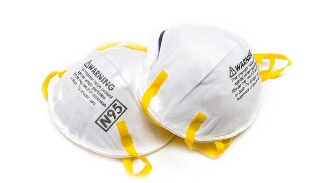 N95 masks to fight the spread of COVID-19,