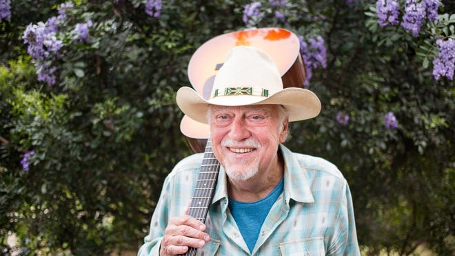 Jerry Jeff Walker, seen here in 1993, was a Texas troubadour who helped define Austin culture for decades.