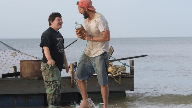 """Jack Gottsagen, left, and Shia LaBeouf star in """"The Peanut Butter Falcon."""""""