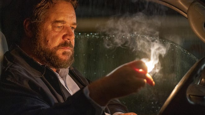 "Russell Crowe stars in director ""Unhinged,"" one of the new films starting today in re-opened northeast Georgia theatres."