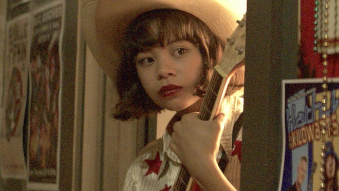 """This image released by Sony Pictures shows Eva Noblezada in a scene from """"Yellow Rose."""""""