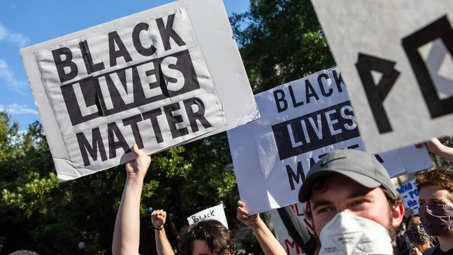 """Athens Anti-Discrimination Movement hosted a """"Justice for Black Lives: Confronting Racial Injustices"""" rally in downtown Athens on Thursday."""