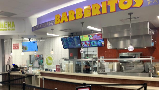 This undated photo shows the Barberitos restaurant at the Tate Student Center on the University of Georgia campus in Athens, Ga. After closing in March 2020 due to the COVID-19 pandemic, the location is set to reopen on Friday, August 14th.