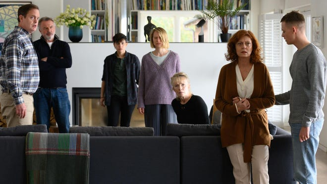 """This promotional image shows the ensemble cast of """"Blackbird,"""" currently available for streaming rental at athenscine.com."""