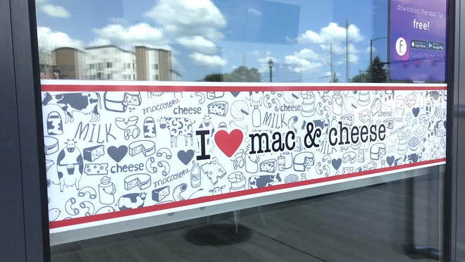 This photo from August 12, 2020 shows the closed front door of I Heart Mac & Cheese restaurant in Athens. The local eatery is scheduled to reopen on August 26.