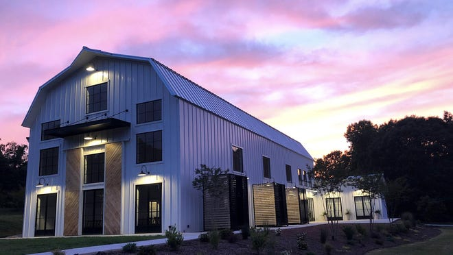 Barn South, an event venue in Talmo, opened in May.