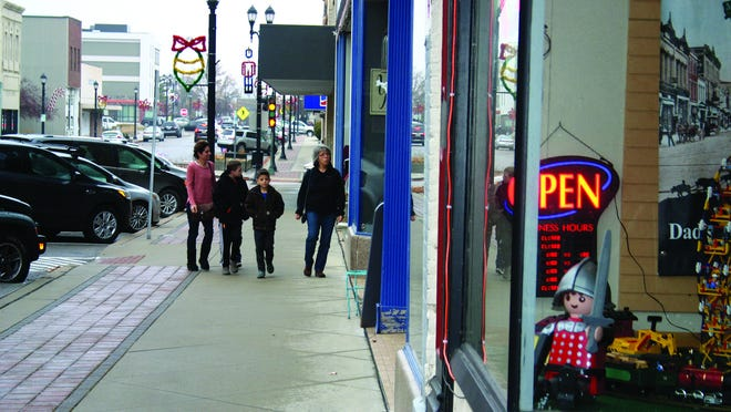 Shoppers visit stores in downtown Leavenworth on Black Friday in 2019. Retailers are gearing up for Black Friday this year amid the coronavirus pandemic.