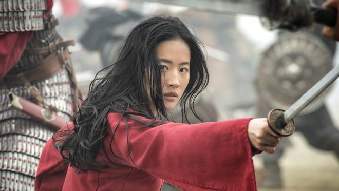 "A scene from ""Mulan."""
