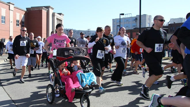 """The first David """"D.W."""" Smith Jr. Remembrance 5K run/walk was held in 2015."""