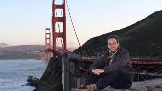 This is an undated image taken from Facebook of Germanwings co-pilot Andreas Lubitz in San Francisco.