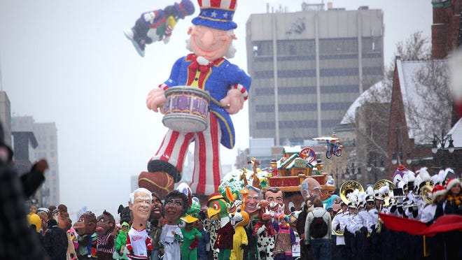 America's Thanksgiving Parade will step off Thursday morning on Woodward Avenue.