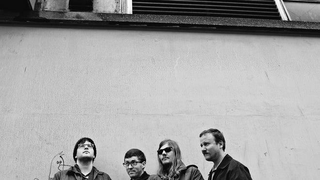 Protomartyr, from left: Guitarist Greg Ahee, drummer Alex Leonard, bassist Scott Davidson and vocalist Joe Casey.