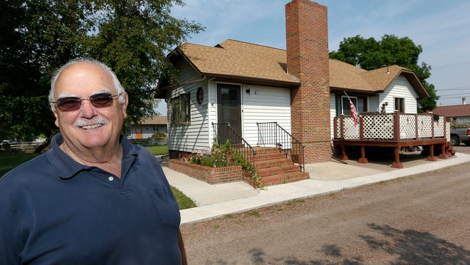 Dennis Kuntz is in the process of selling his house on Central Avenue West that he has lived in since 1964.