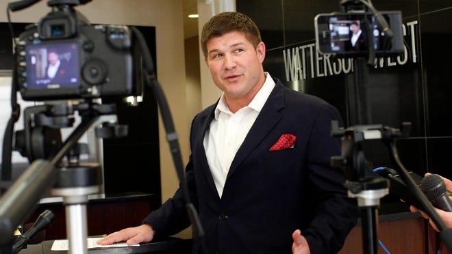 Jesse Benton, campaign manager for Sen. Mitch McConnell. April 9, 2013