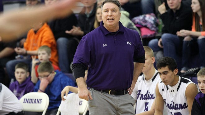 Mount Gilead coach Tom Cooper