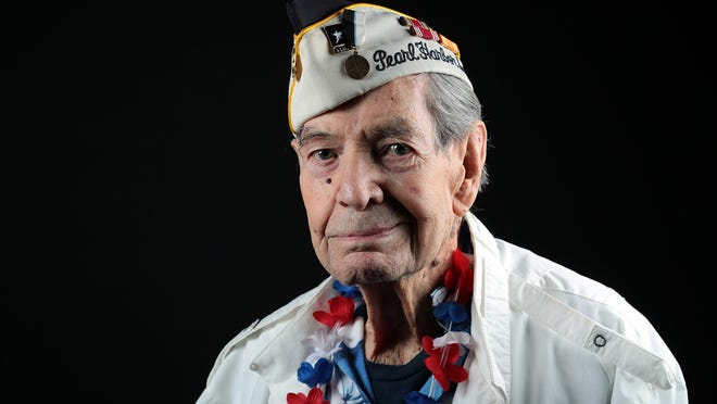 Leo Priest, 93, of Palm Springs was a soldier in the California National Guard and was in Hawaii for a year of training on Dec. 7, 1941. He turned 21 the day before the attack on Pearl Harbor.