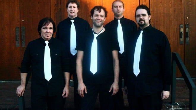From left, Jerry Dawson, Joel Bouchillon, Sims Chadwick, Mark Ellis and Jonathan Clark.