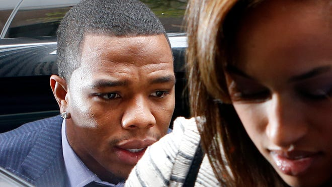 Former Baltimore Ravens running back Ray Rice (with wife Janay) is a formidable weapon on the playing field. That's a powerful lure for the Arizona Cardinals. But teams need to put human decency ahead of winning football games.