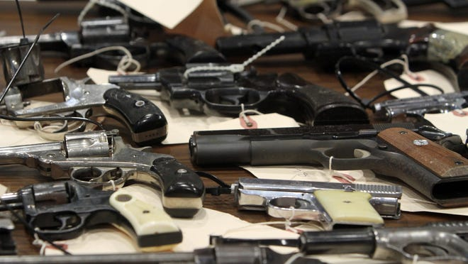 A 2013 Rochester Gun Buyback brought in 150 handguns, only 10 of which had legal permits.