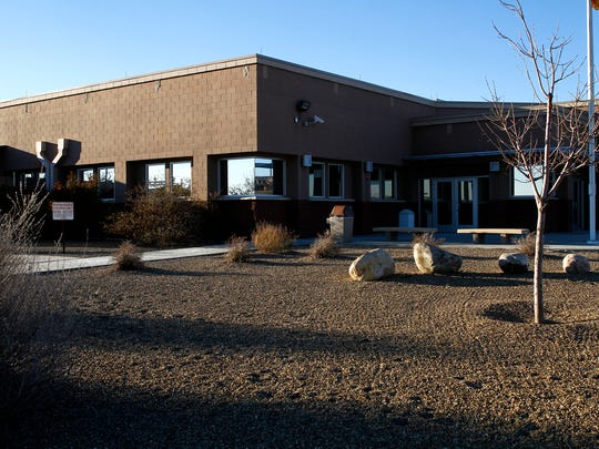 The San Juan County Adult Detention Center is pictured on Wednesday in Farmington.