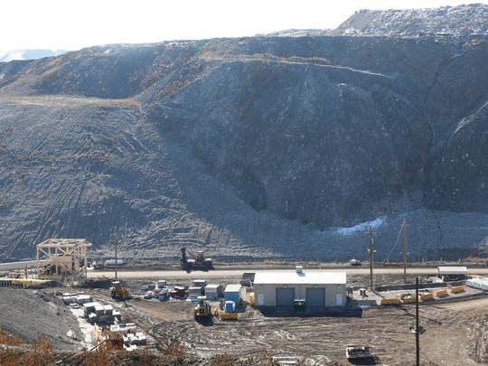 The San Juan Mine operation in Waterflow is pictured in January.