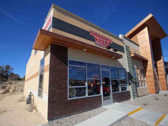 The new Smoothie World N' Juice Bar has opened in a mini mall on Messina Drive in Farmington.