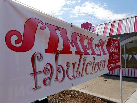 Simply Fabulicious, located off Main Street and Butler Avenue, is scheduled to open on July 4.