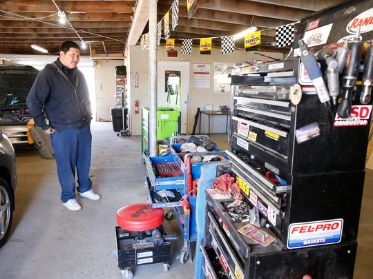 O'Neil Bileen was inspired to open his new garage, TC Automotive Repair, by his father, who owned a business in Shiprock.