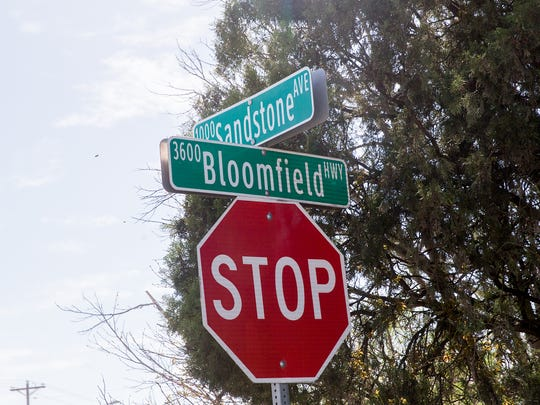 The current water line running near the intersection of the Bloomfield Highway and Sandstone Avenue is has been in use for 65 years despite having a life span of only 50 years.