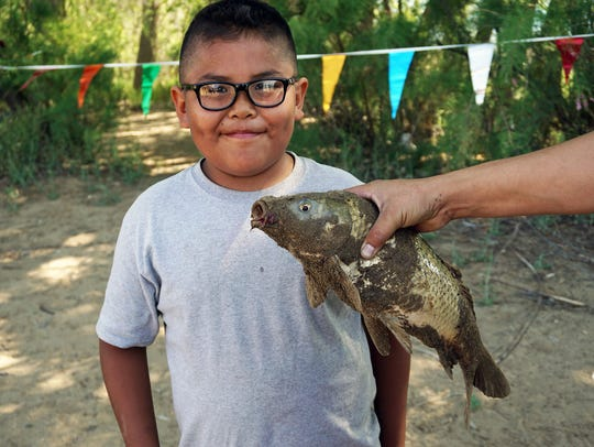 Last year 70 young contenders showed up for a youth fishing derby at Lake Farmington, but Da'Shawn Hunter, 9, caught the largest fish. It was 19 inches long.  More than 400 vehicles were counted at the lake during last year's free fishing event.