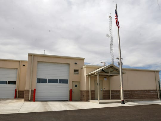 San Juan County Fire Department District 1 Fire Station, known as Valley Fire, is one of three stations in the department that has received an improved ISO rating.