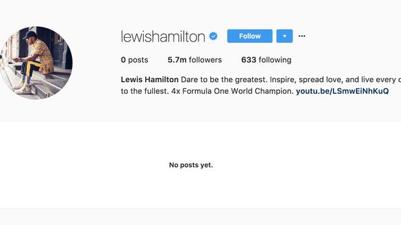 Lewis Hamilton wipes social media accounts after video controversy