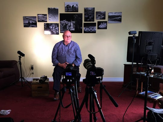 Ralph Polovich is video taped telling his story of