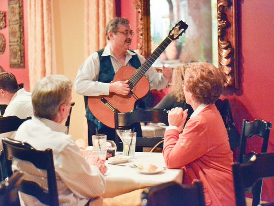 Cafe Bella is known for its romantic music and Italian