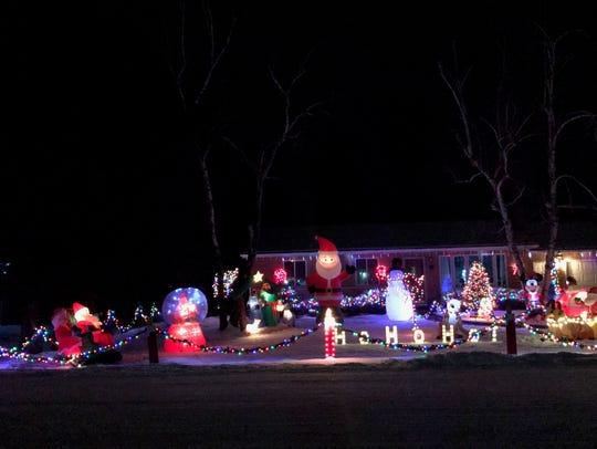 Home of Mike and Marlene Raykowski, 3150 Katherine