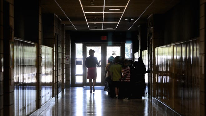 Federal data shows St. Cloud schools have a significantly higher percentages of kids ages 5-17 than other area schools.