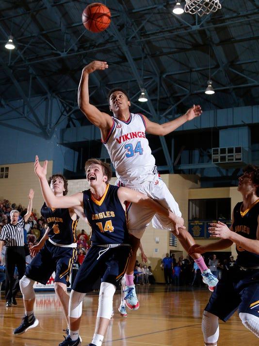 Lansing Everett vs Hudsonville MHSAA Quarterfinal Boys Basketball
