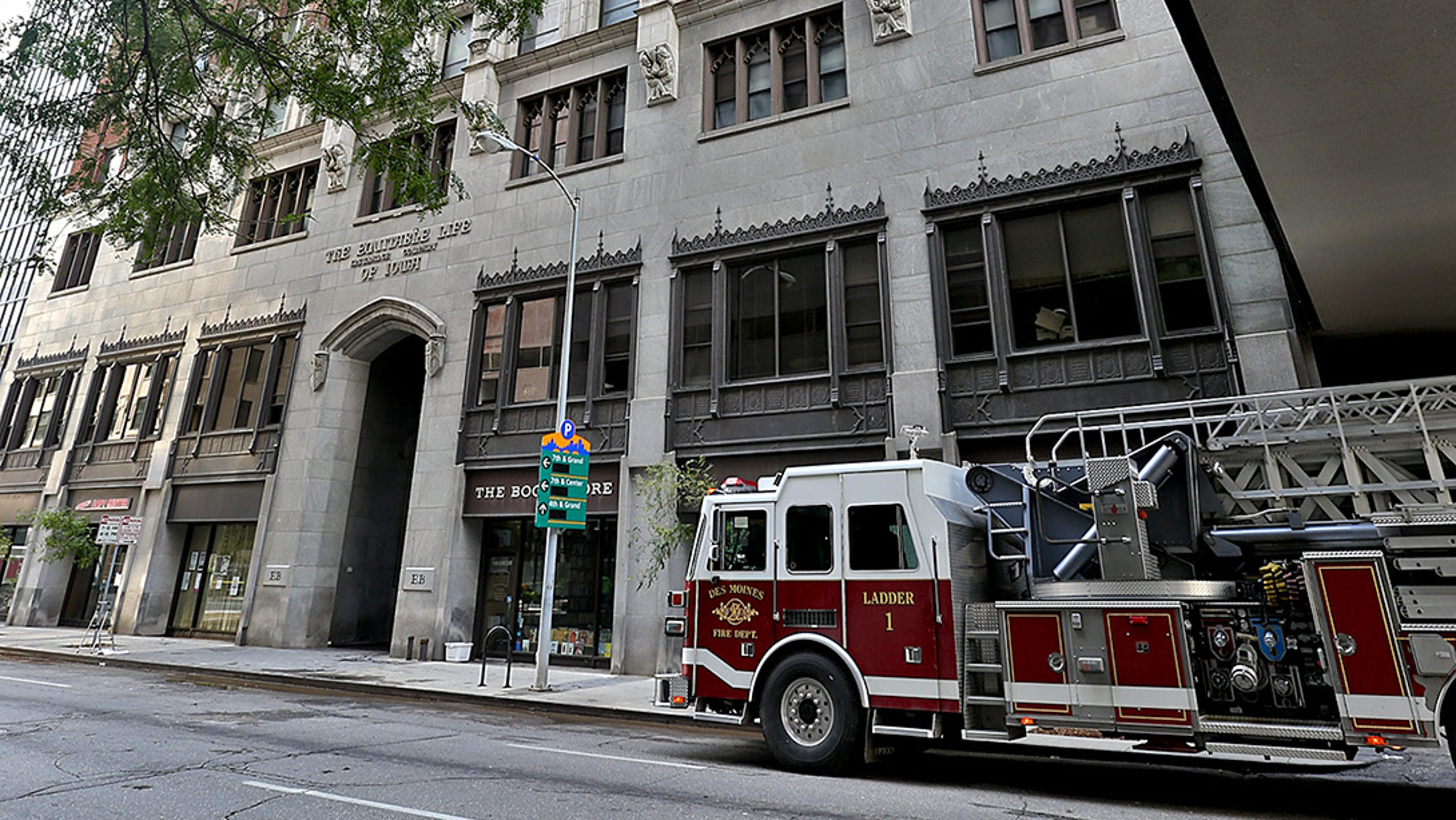 Equitable Building Fire