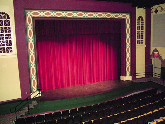 The Rio Grande Theatre's period decor was restored and some high-tech upgrades were added to make it a state-of-the-art performance venue.